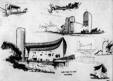 La capilla Ronchamp de Le Corbusier (4/6)