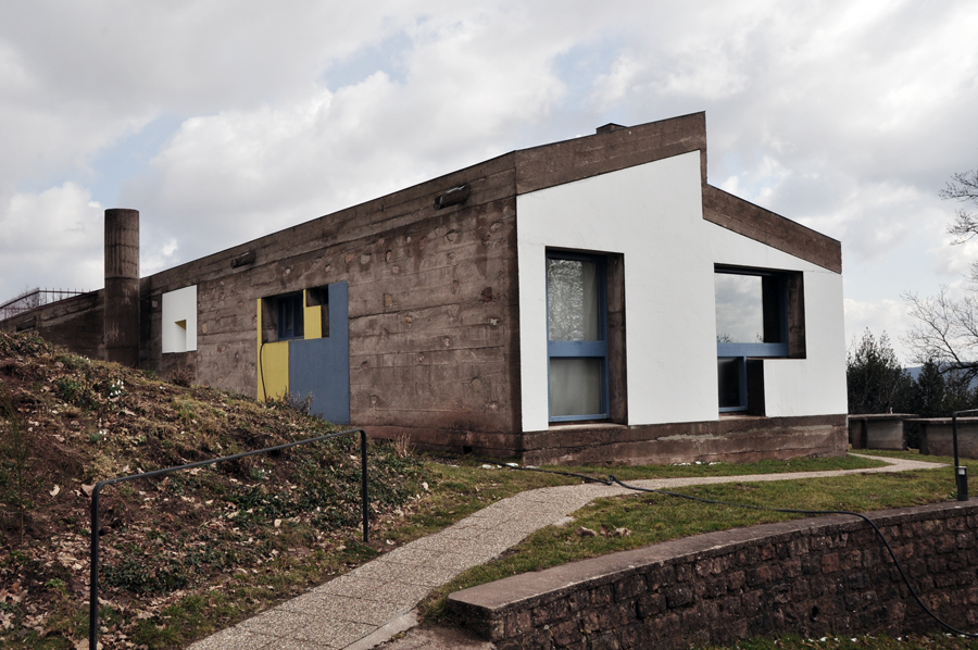 La capilla Ronchamp de Le Corbusier (5/6)