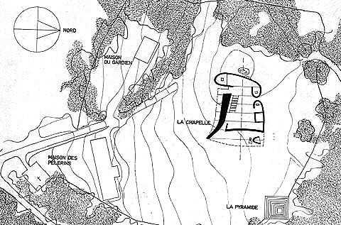 La capilla Ronchamp de Le Corbusier (3/6)