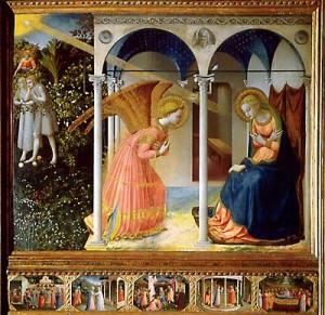 La Anunciacion de Fra Angélico