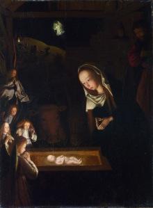 La Natividad de noche de Geertgen tot Sint Jans