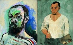 Autroretratos de Matisse y Picasso de 1906