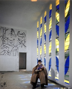 Matisse en el interior de la capilla