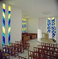 Conjunto de vidrieras de la capilla del Rosario