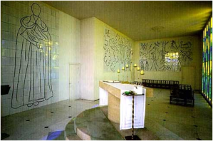 Conjunto de los tres murales