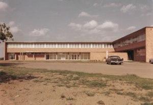 Primer ala construida de la abadía de Nuestra Señora de Dallas (1959)