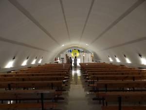 Vista de la capilla, una vez terminadas las obras.