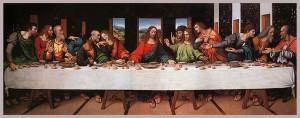 Copia de la Última Cena por Giampietrino.