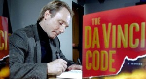 Dan Brown, autor de El Código Da Vinci.