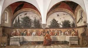 Cenáculo de Ognissanti (Domenico Ghirlandaio)