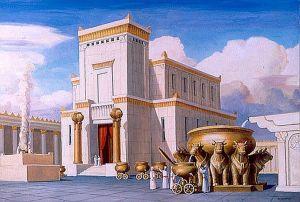 Altar de los holocaustos del Templo de Jerusalén.