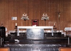 Altar mayor de la iglesia de Santa Rita de Madrid.