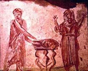 La representación más antigua de un tribadion