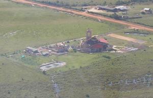Vista aérea Catedral Maria Madre Inmaculada. 2007.