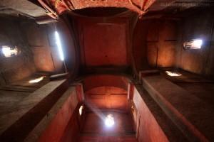 Interior de la iglesia de San Jorge.