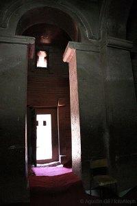 Interior vestíbulo de Bet Emmanuel.