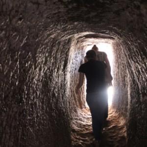 Túnel subterráneo de Bet Emmanuel.