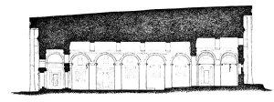 Sección Templo de Bet Medhane Alem. Por Lino Bianchi Barrivera.