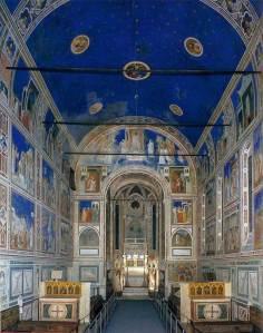 Interior de la capilla de los Scrovegni o de la Arena.