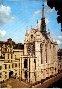 Exterior de Sainte-Chapelle.