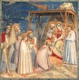 La adoración de los Reyes Magos deGiotto