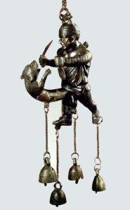 Tintinnabulum de gladiador itifálico (Siglo I a.C.)