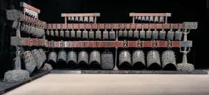 Bianzhong (conjunto de campanas chinas) del reinado Chu (Siglo V a.C.)
