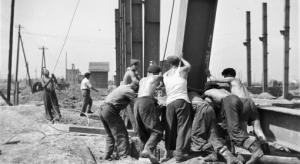 Obreros de Nowa Huta.