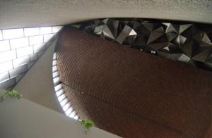 Techo de la iglesia de Nowa Huta.