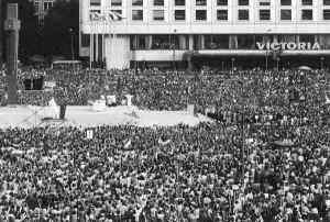 Homilía pronunciada el 2 de junio de 1979, en la Plaza de la Victoria, en Varsovia Polonia.