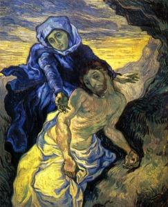 La Piedad de Van Gogh (1889).
