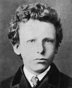 Vincent Van Gogh en 1866.