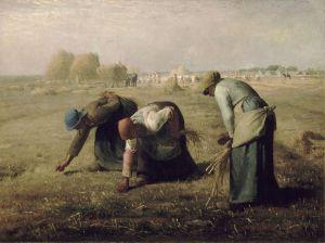 Las espigadoras (Millet, 1857).