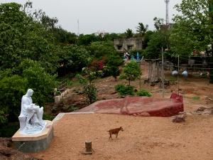 Jardin en el Pequeño monte (Chinnamalai).