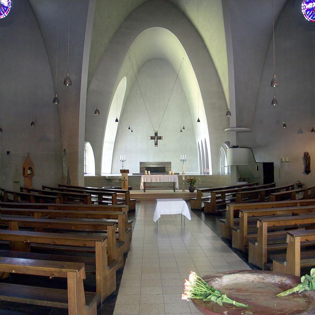 Sankt Engelbert de Colonia-Riehl de Dominikus B�hm, (1931/33). Ejemplo de funcionalismo lit�rgico alem�n