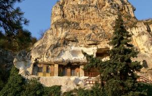 Exterior del monasterio Sveti Dimitri Basarbovski.