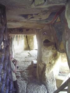 Interior de la iglesia de Santa María.