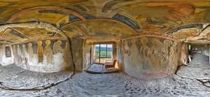 Frescos de los monasterios rupestres de Ivanovo.