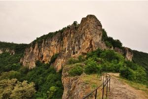 Zona de los monasterios rupestres de Ivanovo.