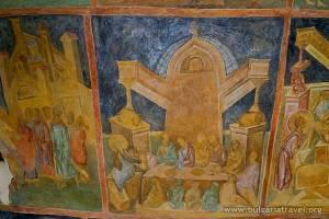 Fresco del Monasterio de San Miguel Arcángel.