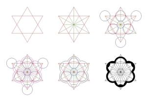 Esquema geométrico utilizado para el diseño de la capilla Sant Ivo allaS apienzia