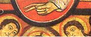 Semicírculo parte superior del Cristo de San Damián