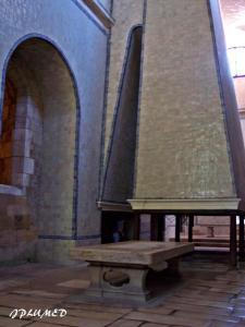 Cocina de la abadía de Santa María d'Alcobaça.