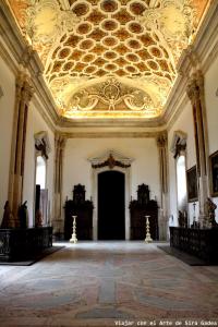 Sacristía Nueva de la abadía de Santa María d'Alcobaça.