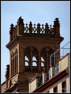 Torre mirador Capilla de los Luises (Anibal Gonzalez)
