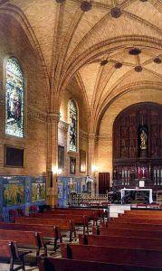 Conjunto de vidrieras de capilla de los Luises