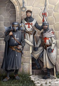 Órdenes militares medievales