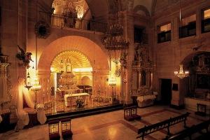 Presbiterio basílica del Realdel Alcázar de la Vera Cruz