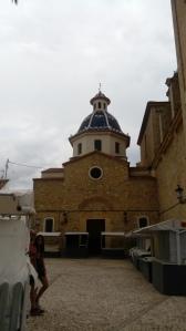 Al fondo la Capilla del Santísimo Cristo en la actualidad.