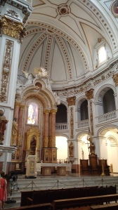Ábside de la iglesia de Nuestra Señora del Consuelo